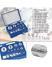 Acogedor 17Pcs Precision Calibration Weight Set,Precision Weight-10mg-100g