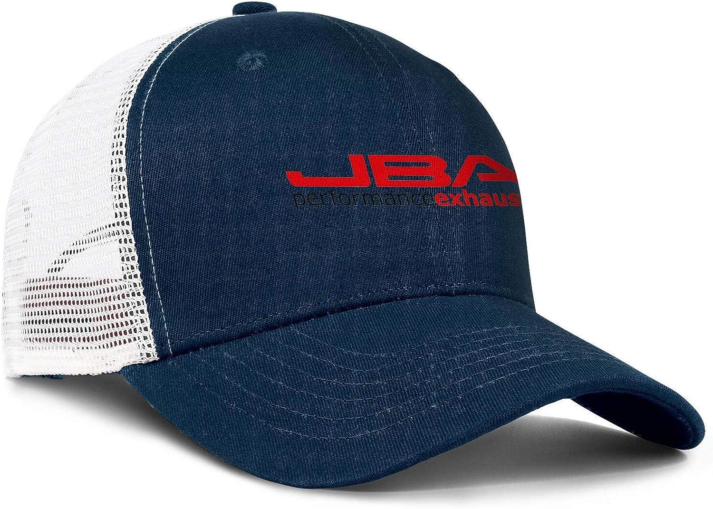 JBA 1615SJS Shorty Header Men Women Mesh Back Ball Caps Cool Mesh Cap