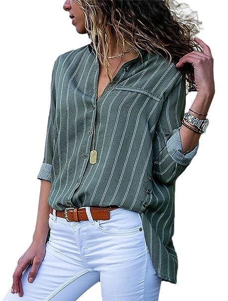 7ee57da891f2 Happy Sailed - Camisas - para Mujer: Amazon.es: Ropa y accesorios