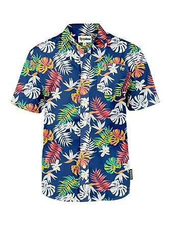 f260615cd27 Amazon.com  Men s Bright Hawaiian Shirt for Summer Aloha Shirt for ...