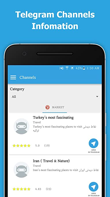 Amazon com: Telegram Channels & Bots: Appstore for Android