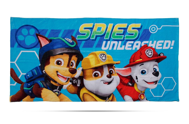Paw Patrol Spy' Kids Towel Character World PAWSPYTW001UK