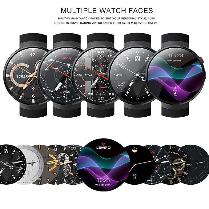 favourall Smart Watch para lemfo lem7, Android 7.0 4 G LTE Smart ...