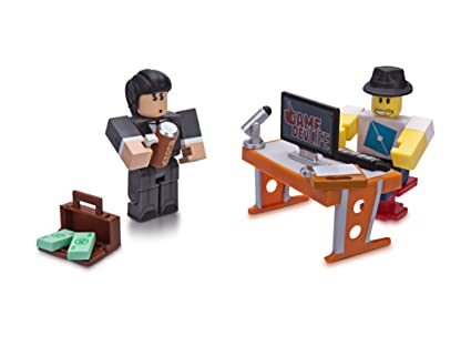 Amazoncom Roblox Celebrity Collection Game Dev Life Game Pack