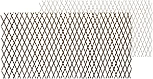 shinea Natural Lattice Willow Trellis Fence for Climbing Plants,Expandable Garden Fence Wall Panel, Outdoor Decorative Wood Fence (1)