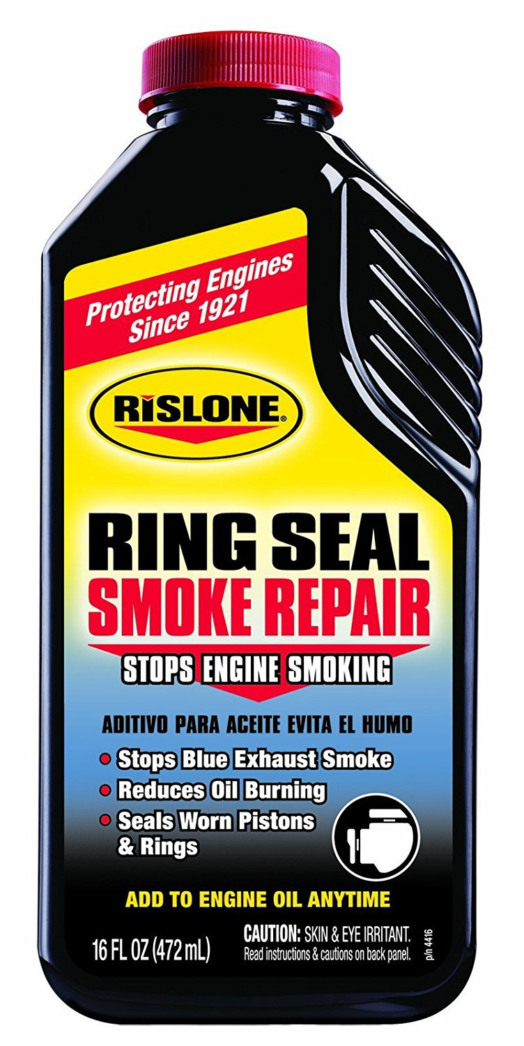 Rislone Engine Oil Stop Smoke Treatment For Petrol/Diesel/LPG Engines 473millilitre [44416] RP-44416