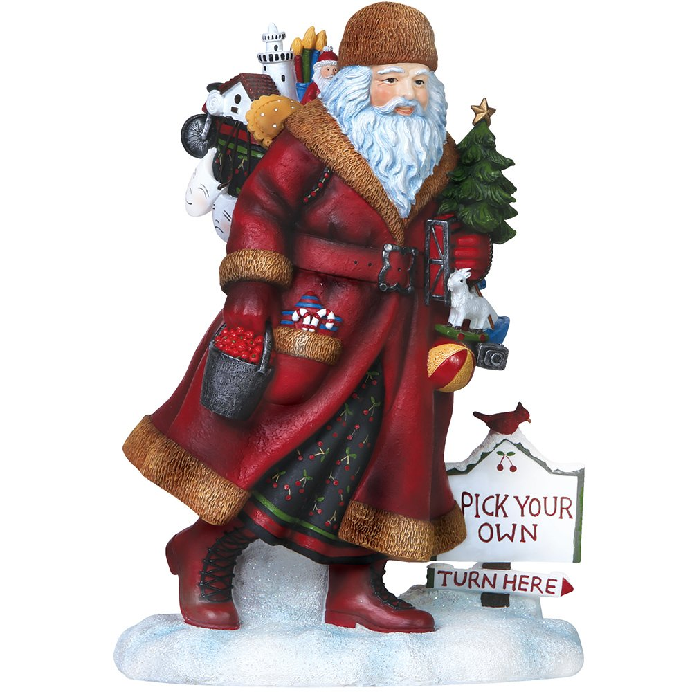 """Pipka, Christmas Gifts, """"Door County Santa"""", Artist's Choice Limited Edition Resin Sculpture, #7151204"""