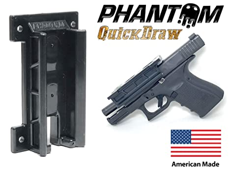 3bb90f09b3848e Phantom Quickdraw - Magnetic Gun Mount & Holster - Concealed Tactical  Firearm & Gun Magnetic Holder