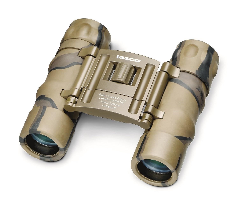 Amazon Tasco Essentials 8x 21mm Roof Prism Compact Binocular Brown Camo Sports Outdoors