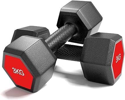 Dumbbells Rubber Encased Solid Weights Sets Dumbbell Set Gym Fitness Equipment
