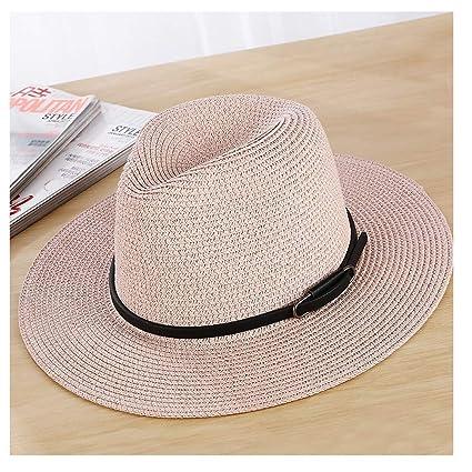 6db5fe02 Fashion Hats, Caps Summer Men Women 100% Sun Hat Fedora Hat Unisex Straw Hat