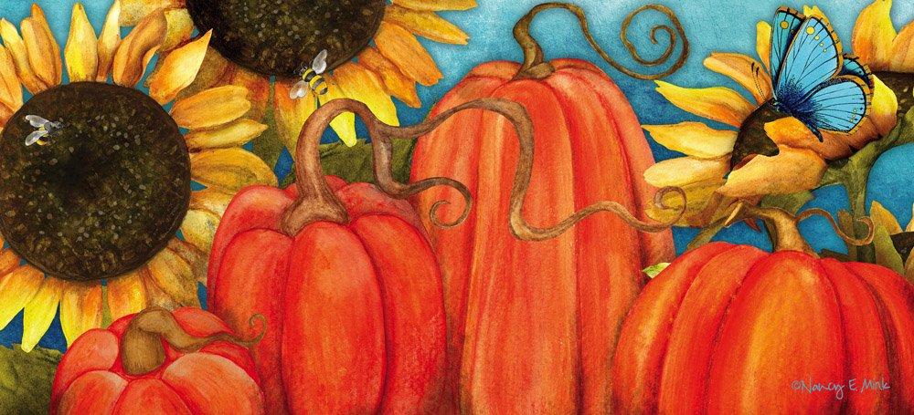 Pumpkin Sassafras Switch mat by Evergreen Enterprises Inc