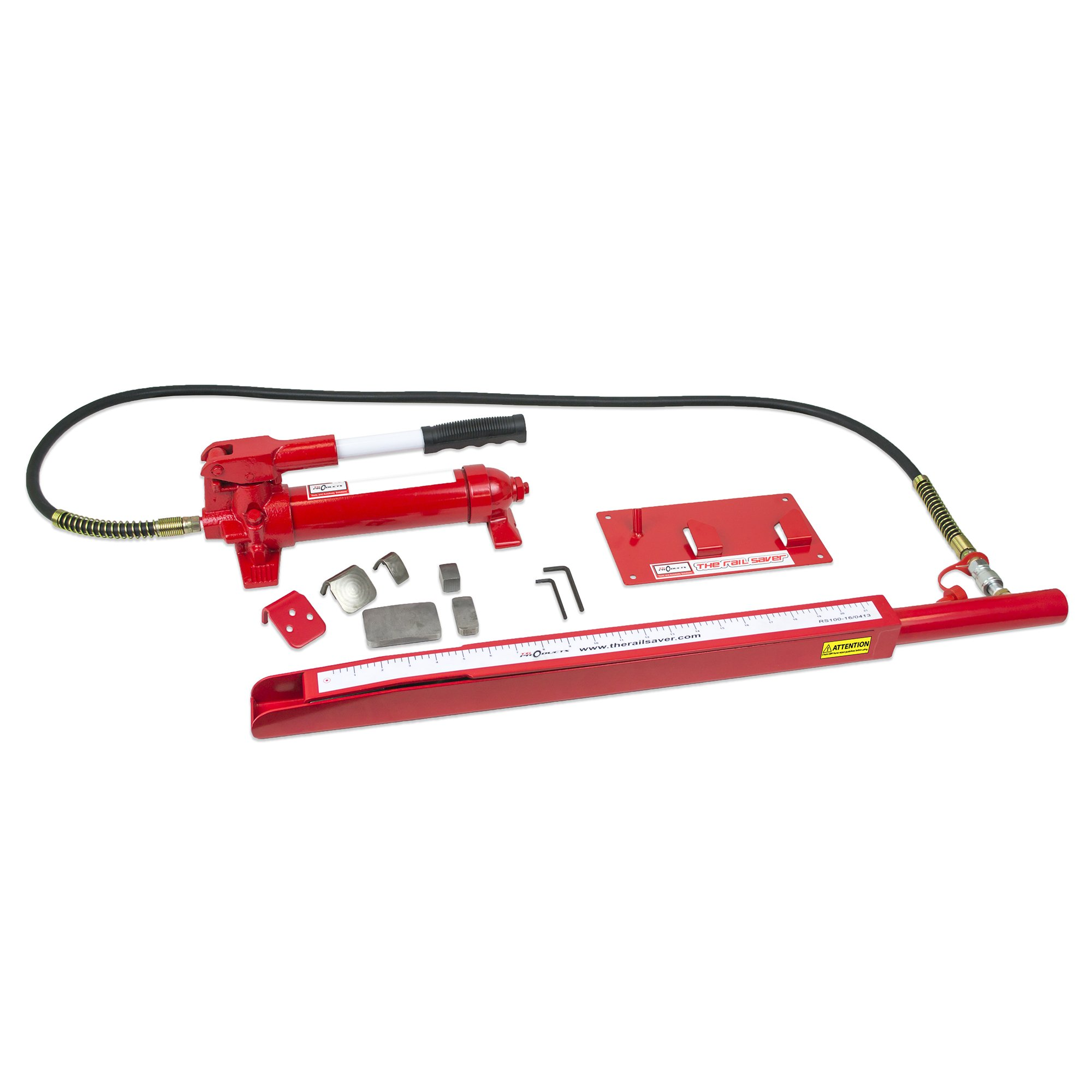 TG Products The Rail Saver Repair System, Accessory Kit, Ram, Case and Wall Bracket (with Pump) by TG Products (Image #1)