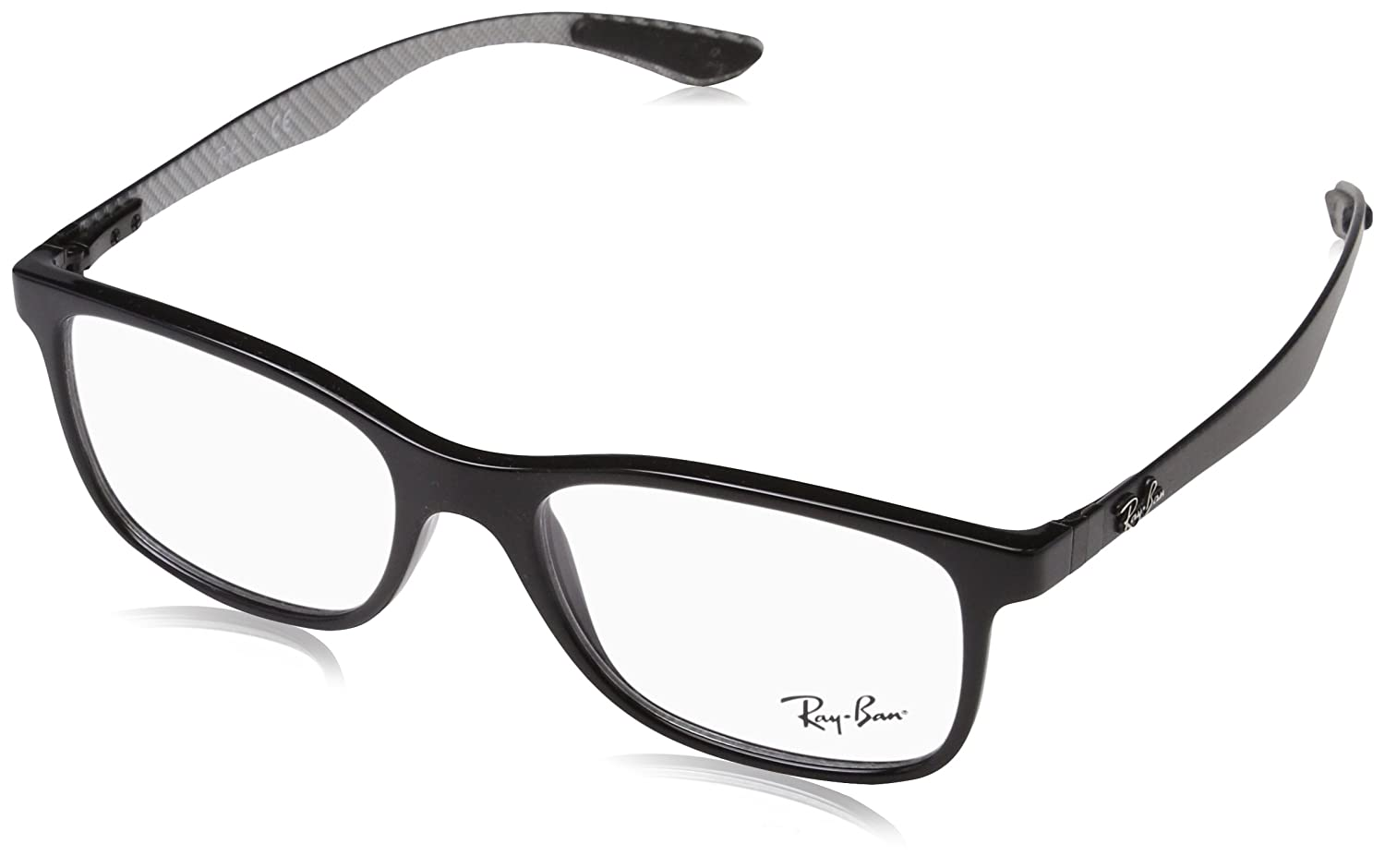 39d31e625c Amazon.com  Ray-Ban Men s 0rx8903 No Polarization Square Prescription  Eyewear Frame