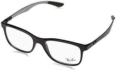 51896e1196 Ray-Ban Men s 0rx8903 No Polarization Square Prescription Eyewear Frame