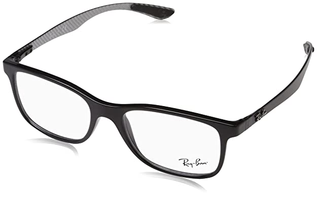 7eb180f6fbe Amazon.com  Ray-Ban Men s 0rx8903 No Polarization Square Prescription  Eyewear Frame