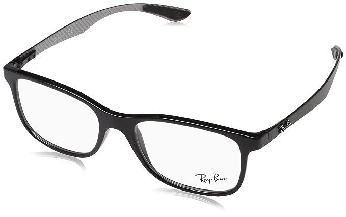 d4d9435376d74 Ray-Ban 0rx 8903 5681 53 Monturas de gafas Black Hombre  Amazon.es  Ropa y  accesorios