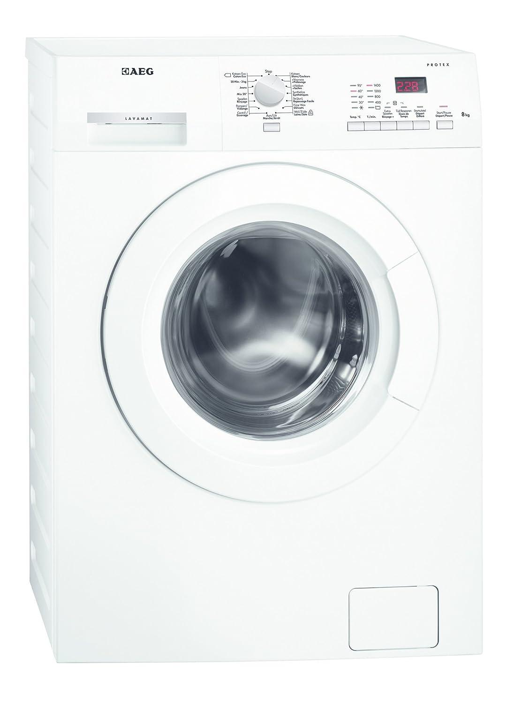 AEG L62482DFL Independiente Carga frontal 8kg 1400RPM A+++ Blanco ...