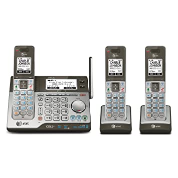 Amazon com : AT&T CLP99383 DECT 6 0 Expandable Cordless Phone with