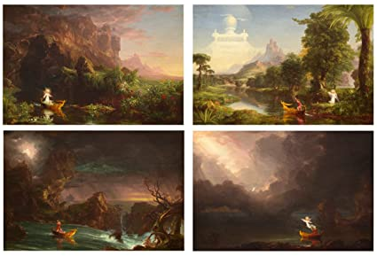628d35f546 Amazon.com: TMP Thomas Cole - The Voyage of Life - Complete Set - 4 ...