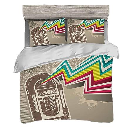 Funda nórdica Tamaño King (200 x 200 cm) con 2 fundas de almohada ...