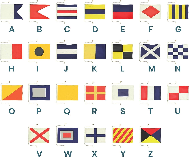 Nautical//Boat Marine Z 5113 International Code Naval Signal Flag 8 X 13