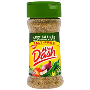 Mrs. Dash, Seasoning Blend, Spicy Jalapeno, 2.5 Ounce