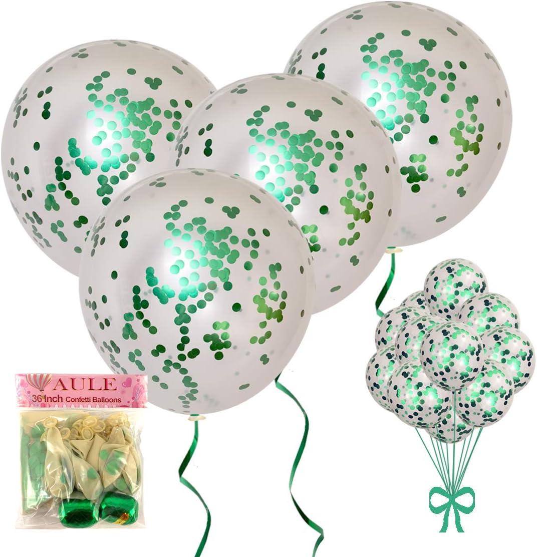 Jumbo Metallic 36 Balloon Confetti Balloon