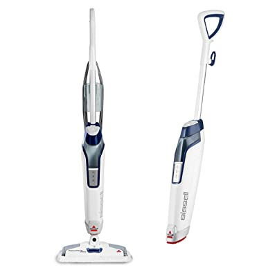 Bissell Steam Mop, Steamer, Tile, Hard Wood Floor Cleaner, 1806, Sapphire Powerfresh Deluxe