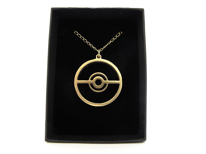 Amazon pokeball pokemon necklace gold plated on a gold filled amazon pokeball pokemon necklace gold plated on a gold filled chain other products jewelry biocorpaavc Image collections