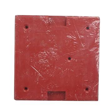 Siemens wpbbs-r 500 - 636137 rojo fuego alarma impermeable Back Box Caja: Amazon.es: Bricolaje y herramientas