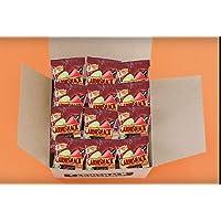 Carnisnack Crujientes Tiras De Carne Seca de Res, Sabor Chile Limón, 24 g x 12 piezas