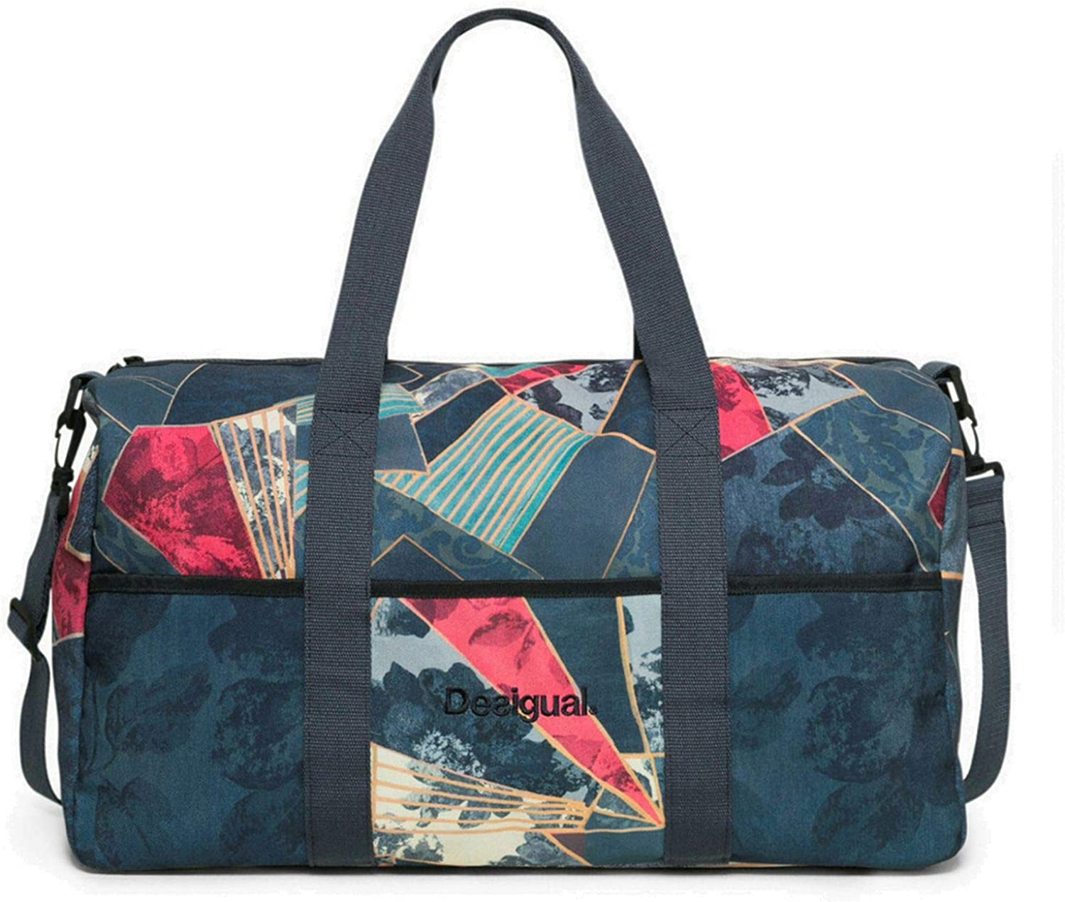 Desigual Sac 17WXRW20 Bols Gym Bag Dark Denim 5188 Legion