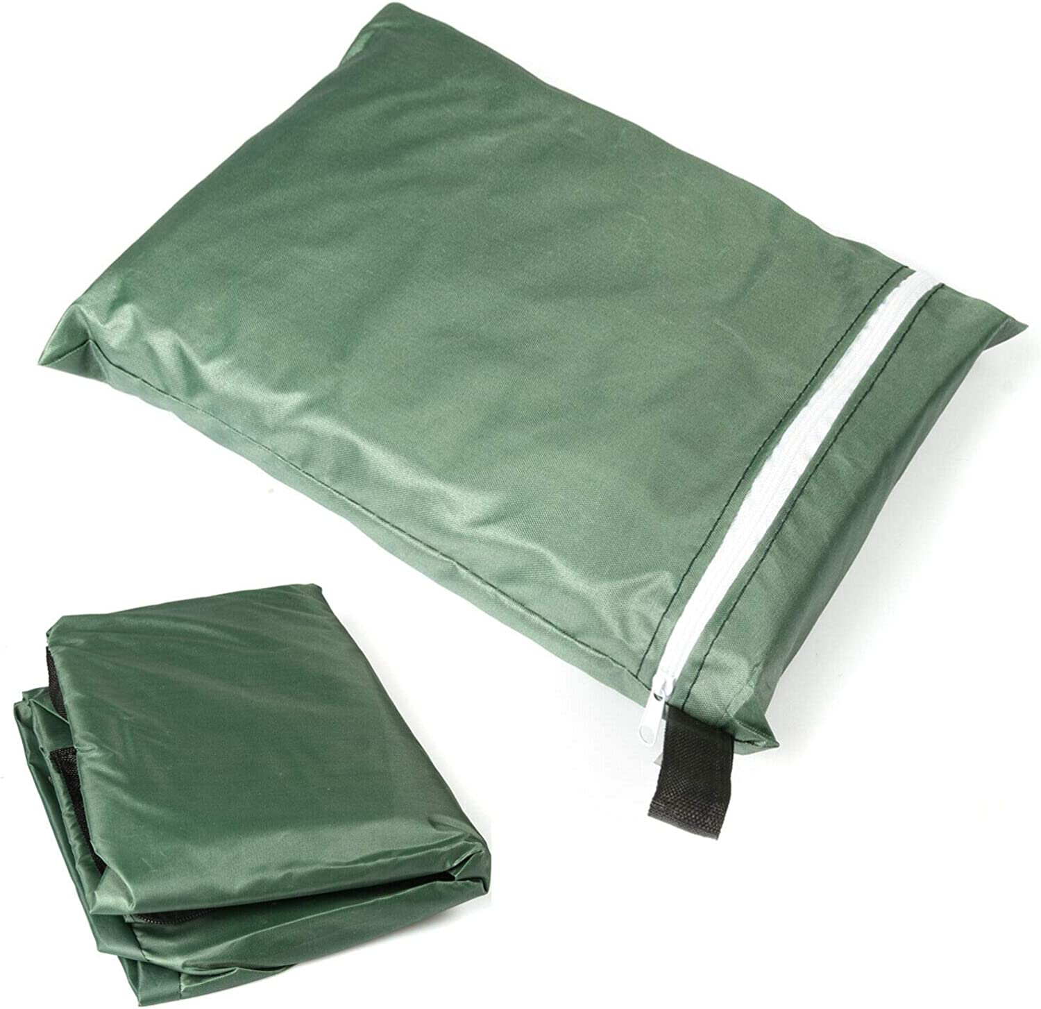 Rectangular Cushion Cover Storage Bag Outdoor Protective Zippered Patio Furniture Cover, Water Resistant, (Volume 670L)