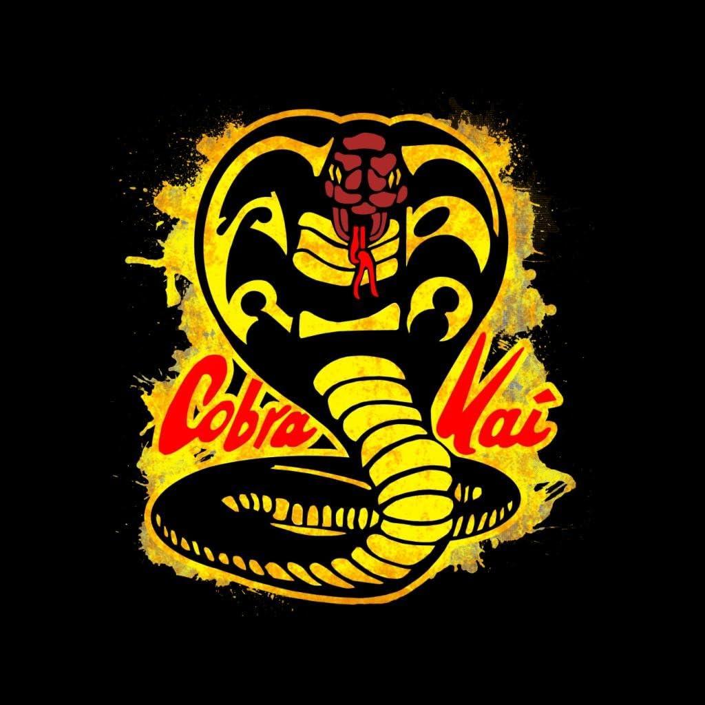 Cloud City 7 Cobra Kai Paint Splatter Logo Kids T-Shirt