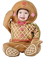 California Costumes Gingerbread Man Infants Christmas Cookie Costume
