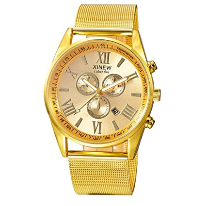 Xinantime Reloje Hombres,Xinan Reloj de Pulsera de Acero ...