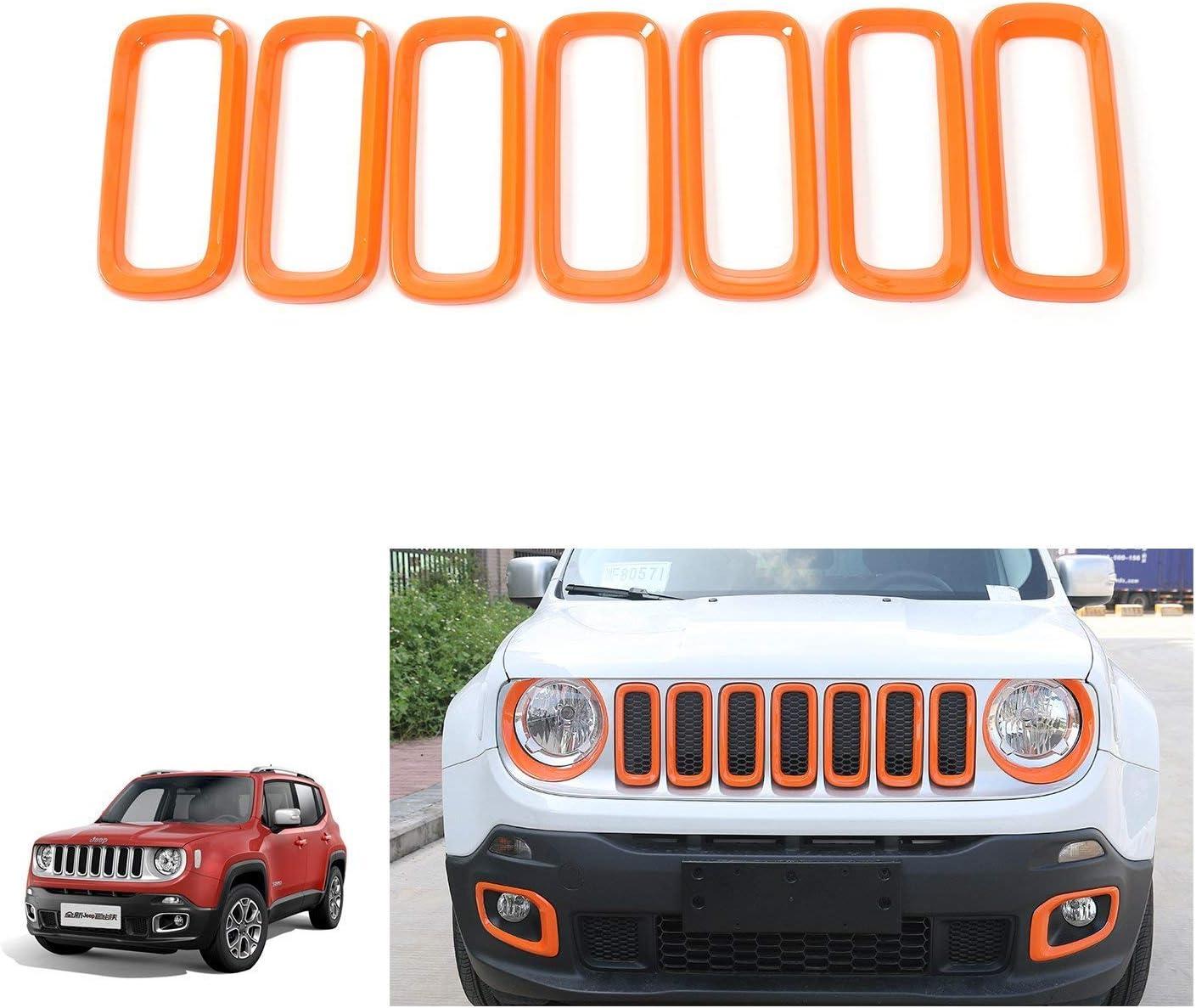 i-shop 7PCS griglia anteriore griglia in ABS inserti