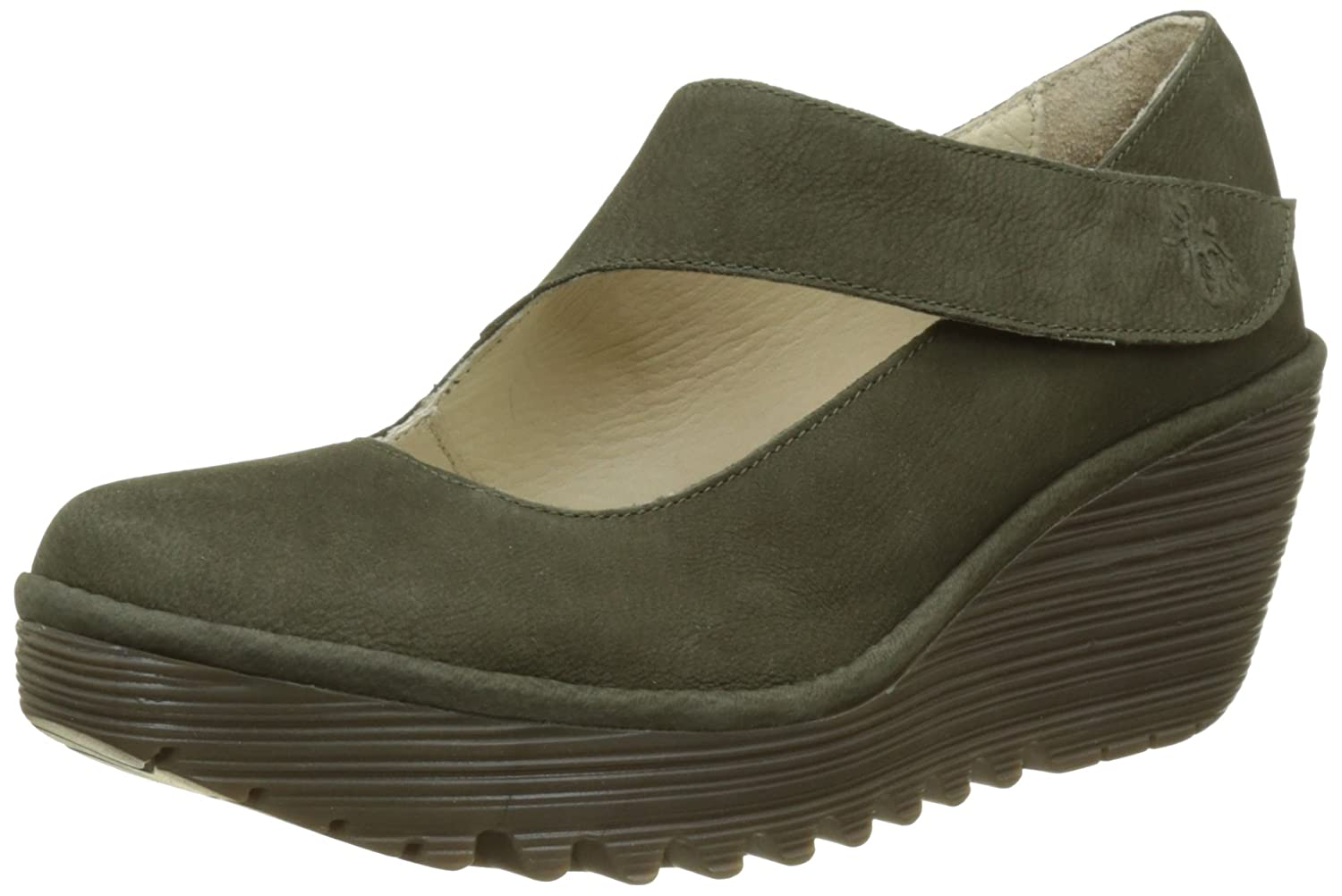 FLY London Women's Yasi682fly Wedge Pump B06X99ZX76 39 M EU|Seaweed Cupido