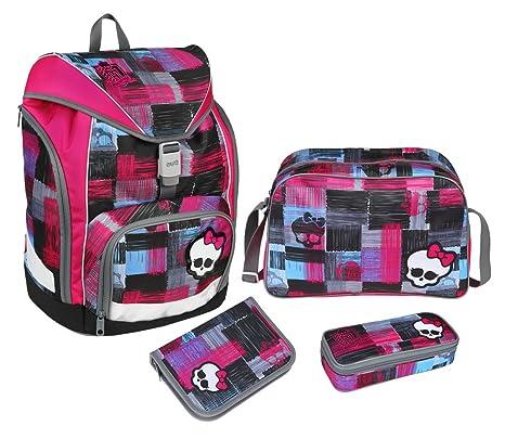 Undercover Scooli - Kit de mochila y accesorios escolares, diseño de Monster High