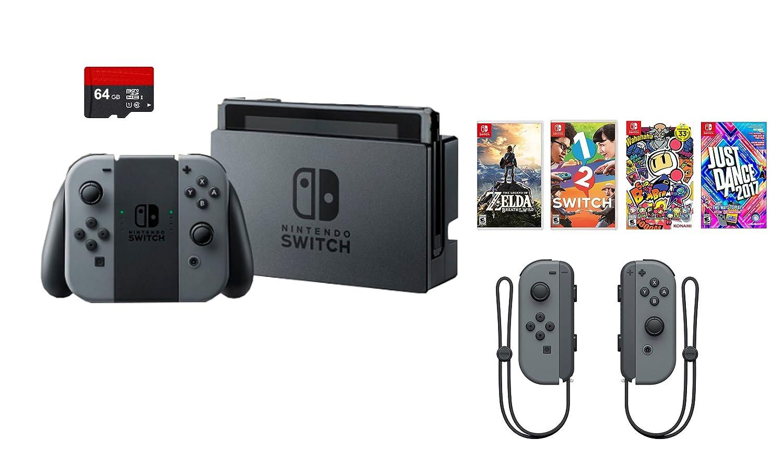 Amazon.com: Nintendo Swtich 7 items Bundle:Nintendo Switch 32GB ...