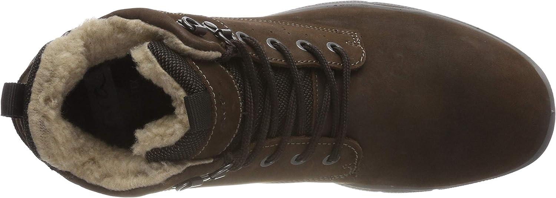 ARA Benjo 1124603, Sneaker a Collo Alto Uomo Marrone Caffe E 64