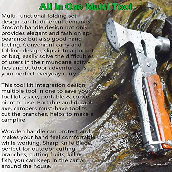 BW Combi Tool Army Multi Tool Outdoor Camping Tool Multi Function Tool NEW