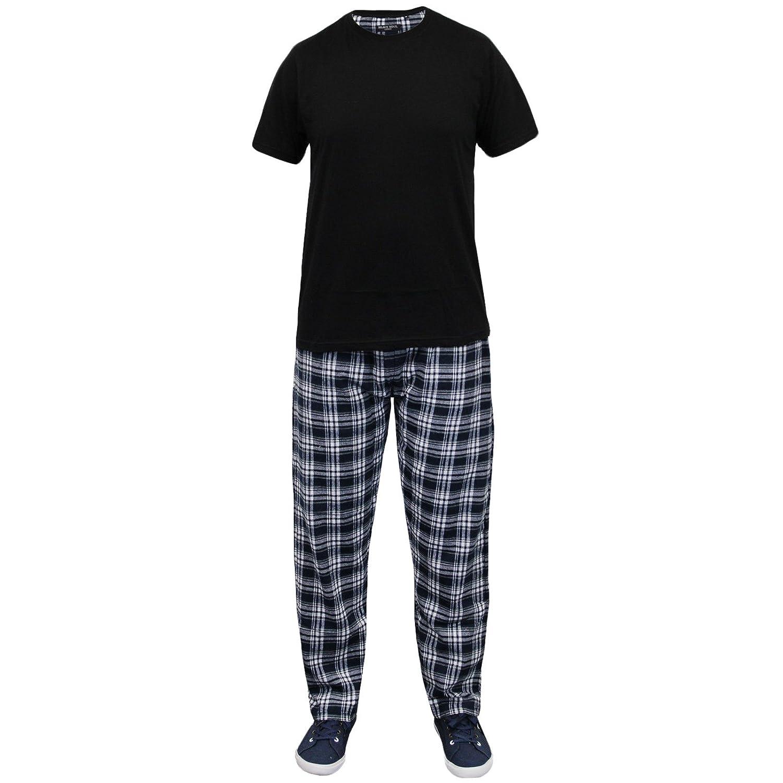 Brave Soul Mens Loungewear Top /& Bottom Pyjama Nightwear Set