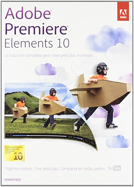 Adobe Premiere Elements 10, Win, RTL, ESP - Software de video (Win