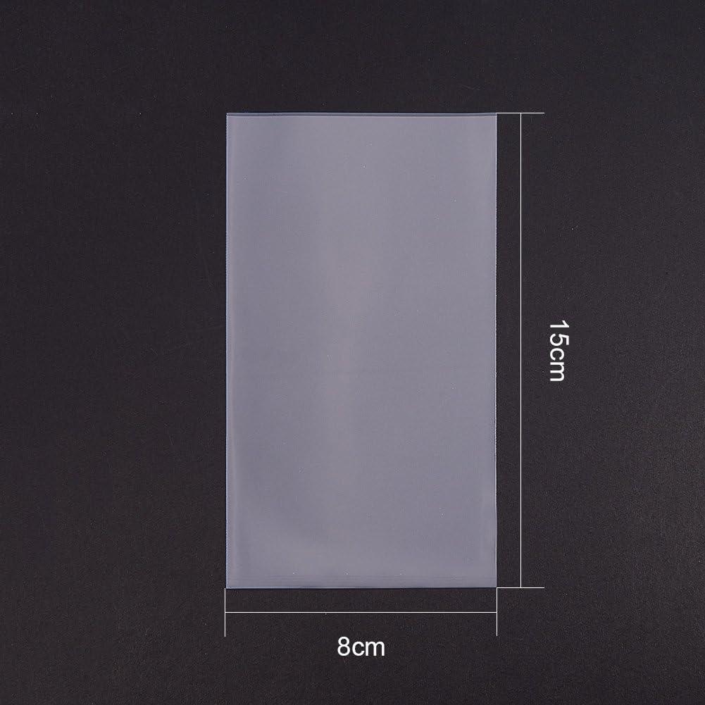 PandaHall Elite /& reg OPP Cellophantaschen Rechteck 15x10cm; ungef/ähr 600pcs // Bag klar