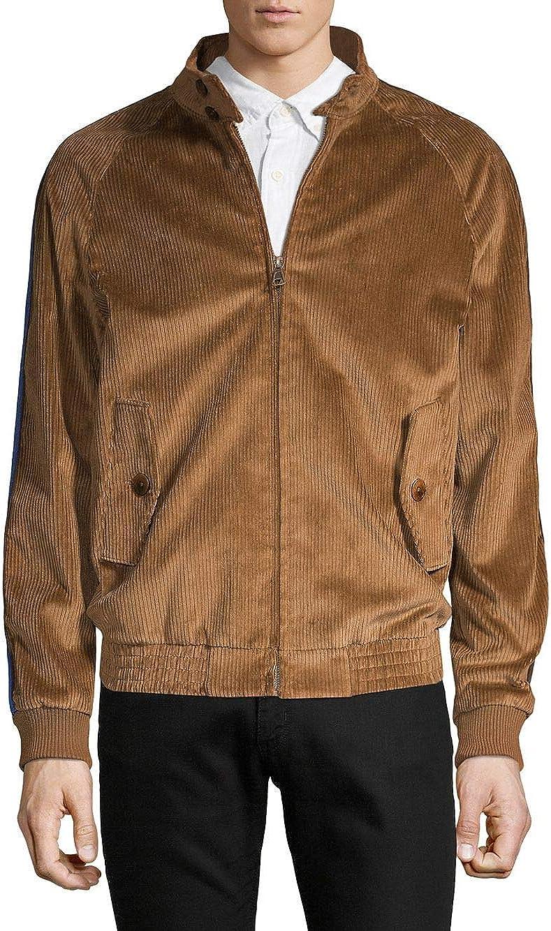 [タリアオレンジ] メンズ ジャケット&ブルゾン Textured Raglan-Sleeve Jacket [並行輸入品]