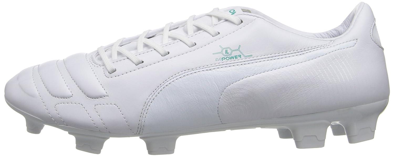 Borsone da da da Calcio per terreni duri per herren EvoPower 1, Bianco Grün Piscina, 8,5 M US 076ef4