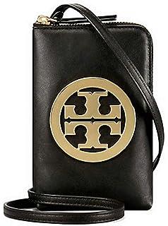 online store 7b747 0f61a Tory Burch Logo Perforated Phone Cross-body Bag Handbag: Handbags ...