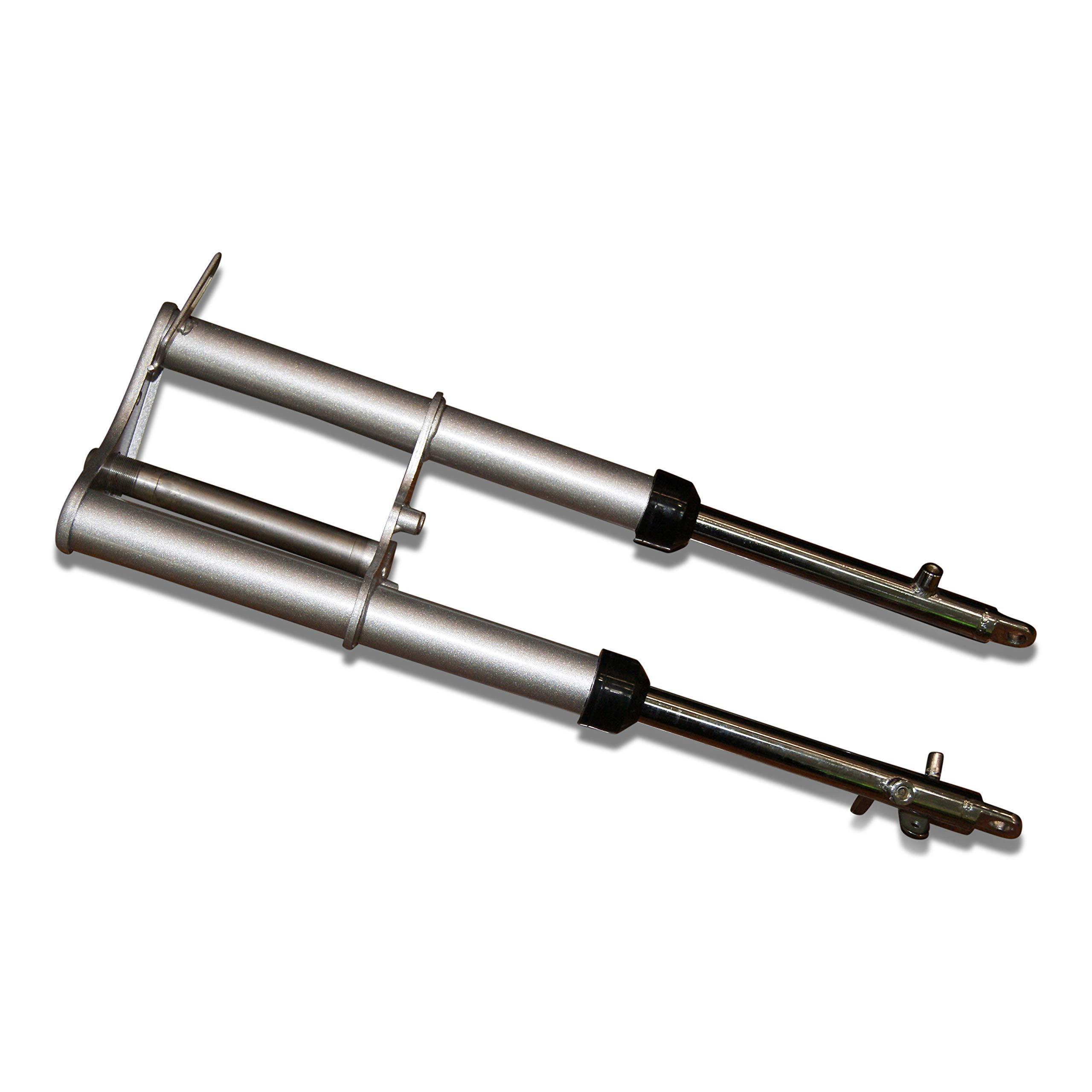Genuine CRF50 +1'' HD Piranha Forks. Heavy Duty Pit Bike Forks. CRF 50 XR